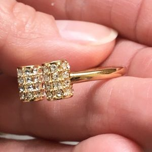 Trina Turk Jewelry - Gorgeous NWOT Trina Turk pave bar ring!